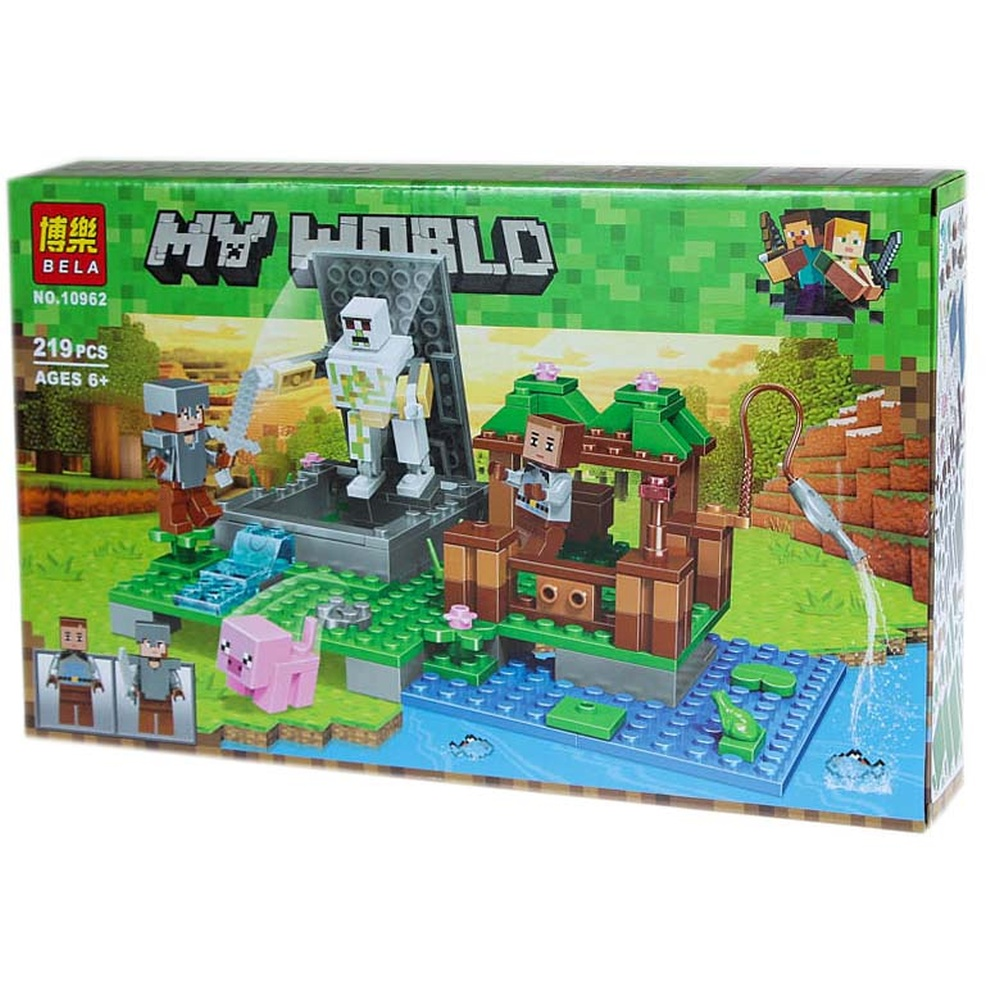 "Конструктор ""BELA.MY WORLD"". №10962.219 деталей."